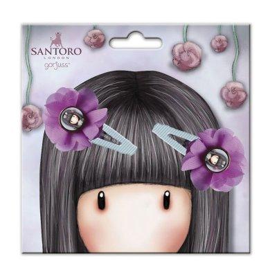 Set 2 ranitas con flor Gorjuss Santoro Rosebud