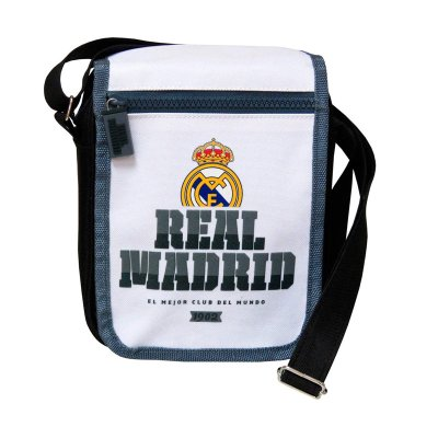 Bandolera pequeña c/solapa Real Madrid F.C