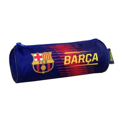 Estuche cilíndrico FCB Barça 22cm