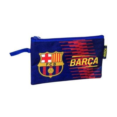 Estuche portatodo plano FCB Barça