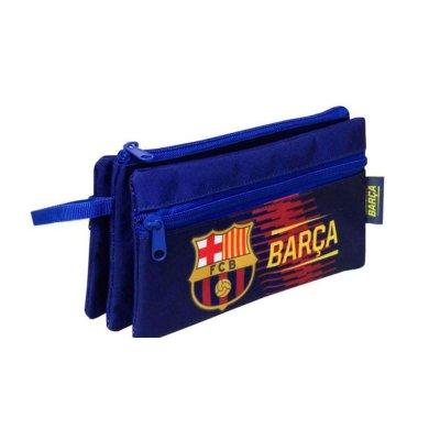Estuche portatodo triple FCB Barcelona