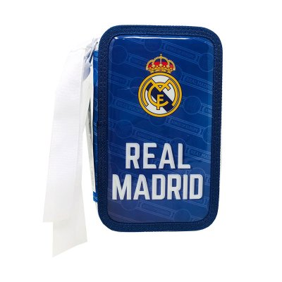 Plumier triple Real Madrid 20cm