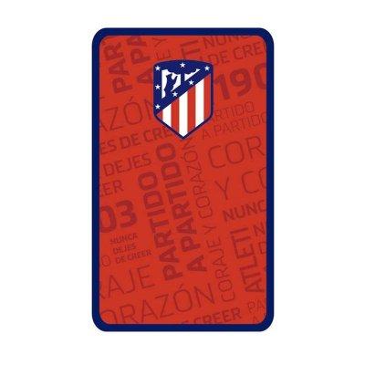 Plumier triple Atlético de Madrid 20cm