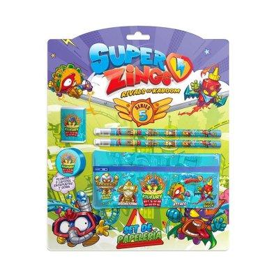 Set de papelería 5 piezas Superzings