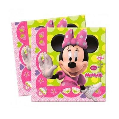 Paquete 20 servilletas 33x33cm Minnie Mouse