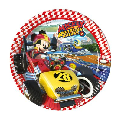 Wholesaler of 8 platos desechables 23cm Mickey Mouse