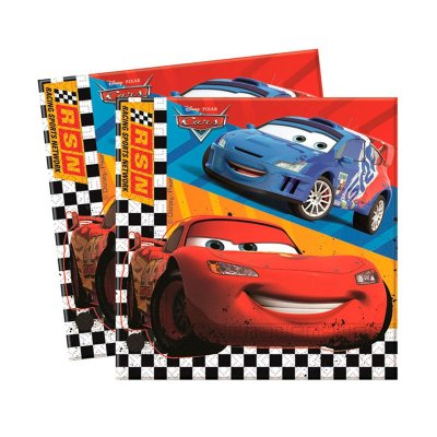 Wholesaler of Paquete 20 servilletas 33x33cm Cars
