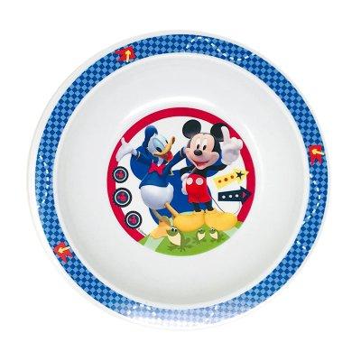 Plato hondo plástico Mickey Mouse