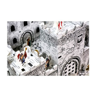 Wholesaler of Bricolaje 3D Mini castillo cartón