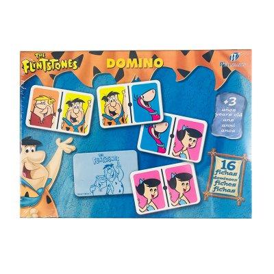 Juego Domino 16 fichas The Flintstones