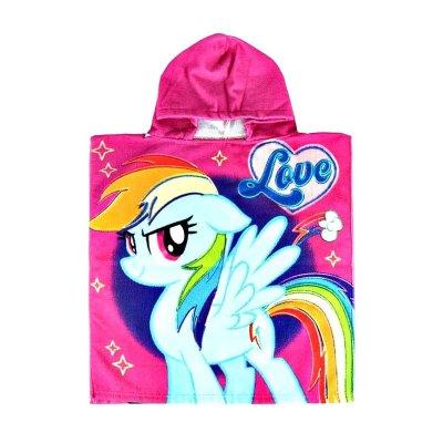 Poncho toalla con capucha microfibra My Little Pony