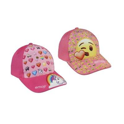 Gorra Emoji 2 modelos rosa