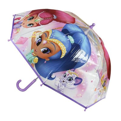 Paraguas burbuja Shimmer and Shine 45cm