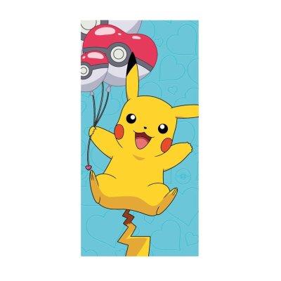 Toalla microfibra Pokemon Pikachu globos Pokeball