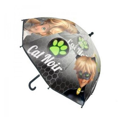 Paraguas manual Cat Noir Prodigiosa Ladybug 45cm