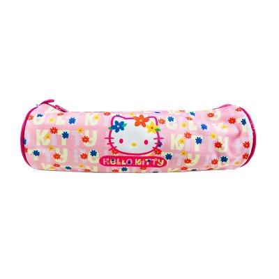 Estuche Hello Kitty cilíndrico - color rosa