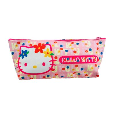 Estuche portatodo Hello Kitty - rosa