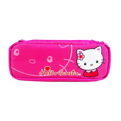 Estuche forma caja Hello Sweetie Kitty - color magenta