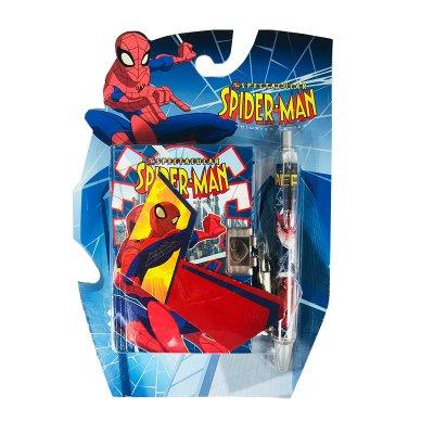 Diario con candado y bolígrafo Spiderman - modelo 1