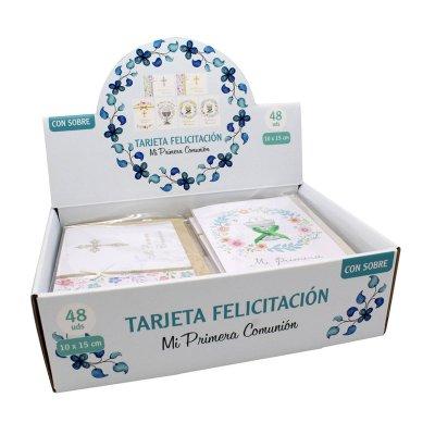 Wholesaler of Expositor 48 tarjetas c/sobres Primera Comunión