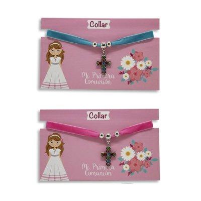 Wholesaler of Collar velvet Primera Comunión