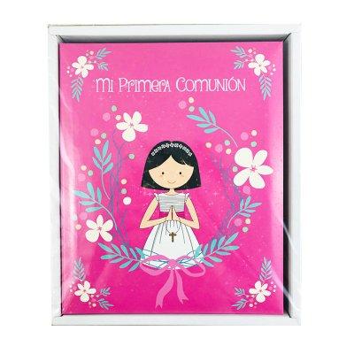 Wholesaler of Álbum 20 fotos Primera Comunión - chica rosa