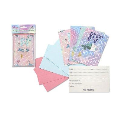 Wholesaler of Expositor tarjetas invitación Sirenita