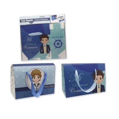 Set caja de regalo 20cm Primera Comunión - chico