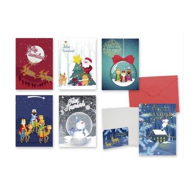 Expositor sobres para dinero Navidad