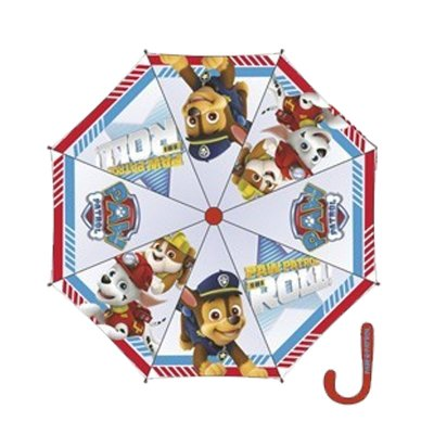 "Distribuidor mayorista de Paraguas transparente manual Paw Patrol Is On a Roll 46cm 18"" - modelo 1"