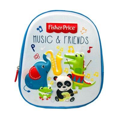 Wholesaler of Mochila 3D 33cm Fisher-Price Music & Friends
