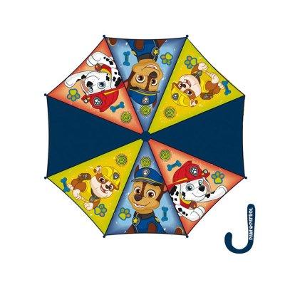 Paraguas manual Paw Patrol 48cm - azul