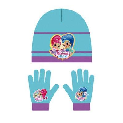 Set gorro guantes Shimmer & Shine