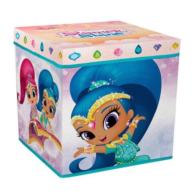Taburete guardatodo con tapa Shimmer and Shine