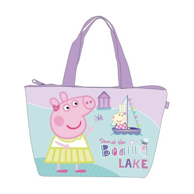 Bolsa de playa 30x45cm Peppa Pig
