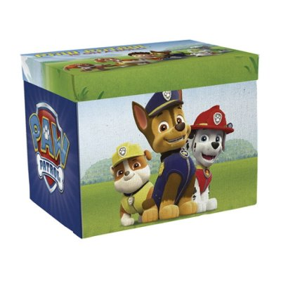 Caja almacenaje tapiz con juegos Paw Patrol