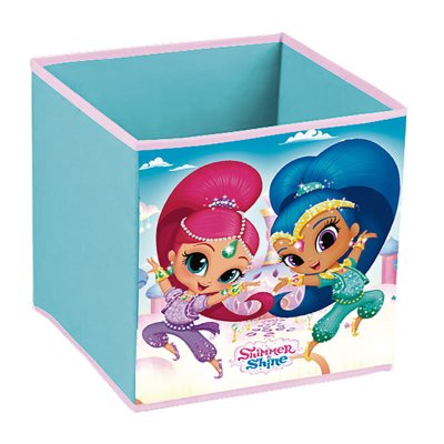 Contenedor cubo Shimmer and Shine