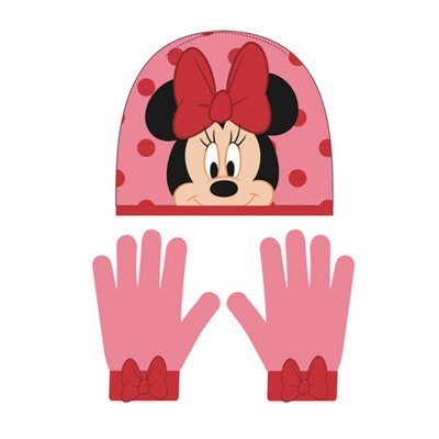 Wholesaler of Set gorro guantes Minnie Mouse