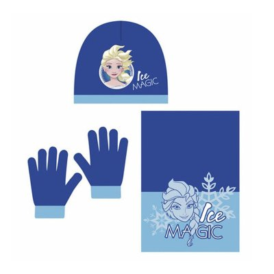 Wholesaler of Set gorro bufanda guantes Frozen 48/51