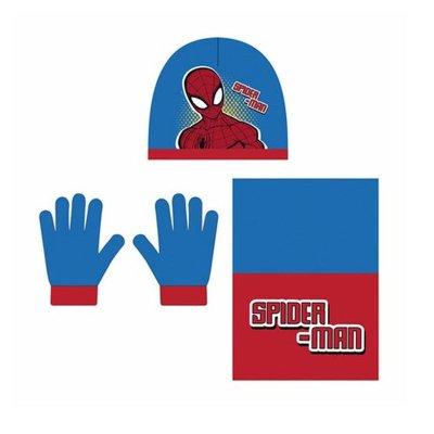 Set gorro bufanda guantes Spiderman