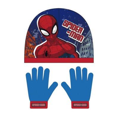 Set gorro guantes Spiderman