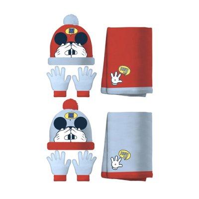 Wholesaler of Set gorro bufanda guantes Mickey Mouse