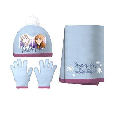 Set gorro bufanda guantes Frozen 2