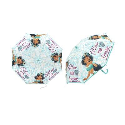 Paraguas semitransparente manual Jasmín Aladdin 48cm - verde
