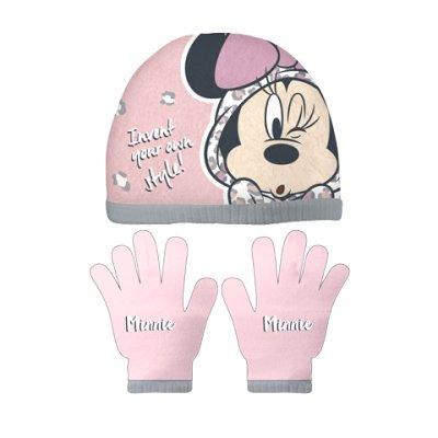 Set gorro guantes Minnie
