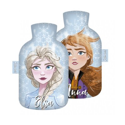 Botella c/funda agua caliente Frozen 2