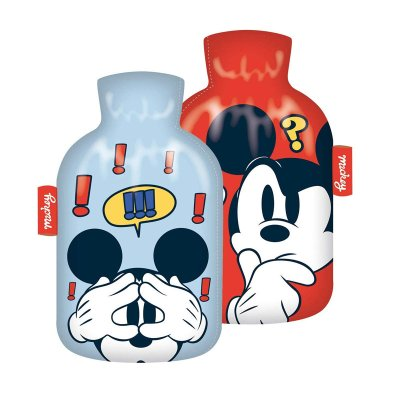 Botella c/funda agua caliente Mickey Mouse