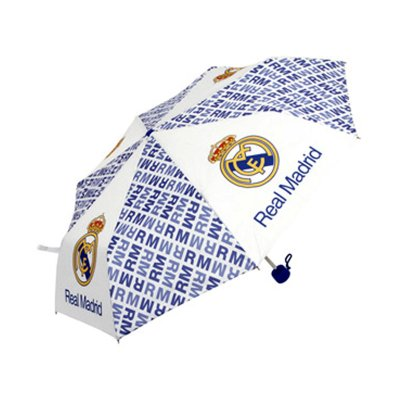 Paraguas plegable manual Real Madrid FC 52cm
