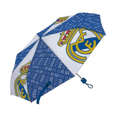 Paraguas plegable manual Real Madrid 52cm