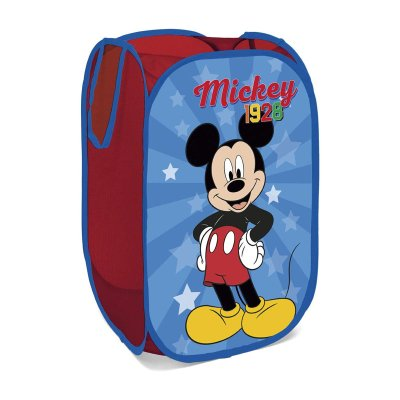 Contenedor de ropa desplegable Mickey Mouse